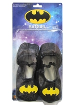 Batgirl Glitter Slipper Kids Shoes