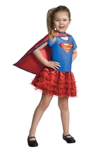 Super Girl Tutu Dress Up Girls Costume