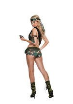 Adult Combat Hottie Woman Costume