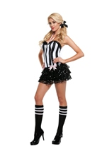 Referee Woman Costume