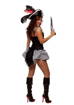 Adult Fiery Pirate Woman Costume
