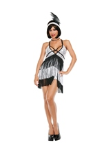Boardwalk Flapper Woman Costume