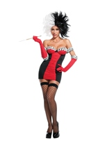 Cruele Lavillian Woman Costume