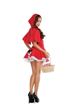 Adult Little Red Woman Costume