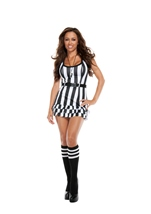 Flirty Referee Woman Costume