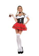 Frisky Beer Girl Woman Costume