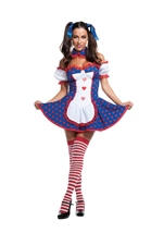 Risque Rag Doll Woman Costume