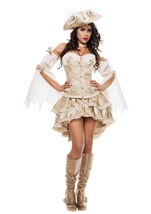 Adult Ghost Ship Pirate Woman Costume