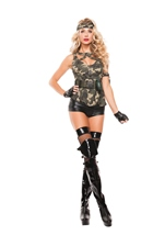 Special Forces Woman costume