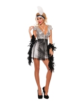 Jazzy Flapper Woman Costume