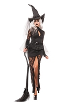 Glam Witch Woman Costume