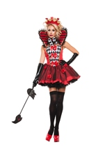 Queen of Roses Woman Costume