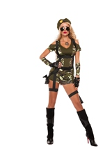 Adult Green Beret Woman Costume