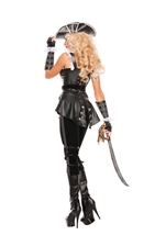 Adult Noir Pirate Woman Costume