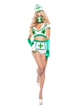 Adult Nurse High Woman Costume