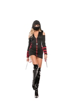 Strapped Up Ninja Woman Costume