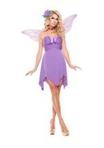 Lilac Fairy Woman Costume
