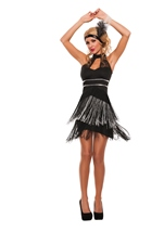 Flirty Flapper Woman Costume
