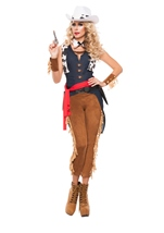 Wild Wild West Woman Costume