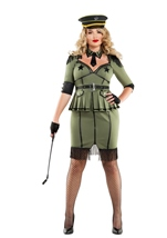 Army Brat Woman Plus Size