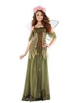 Adult Rose Fairy Princess Woman Costume