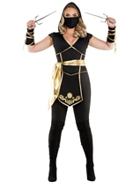 Ninja Assassin Woman Plus Costume