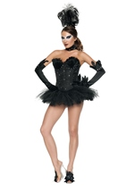 Black Swan Woman Costume