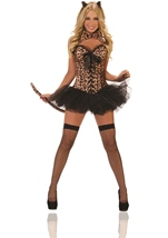 Leopard Deluxe Woman Costume