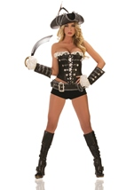 Rogue Pirate Woman Costume
