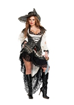 Adult Pirate Woman Hidden Treasure Costume
