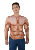 Muscle Padded Boys Shirt
