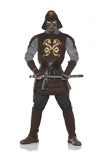Samurai Warrior Men Deluxe Costume