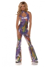 Boogie Disco Babe Woman Costume
