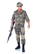 US Army Ranger Men Deluxe Costume