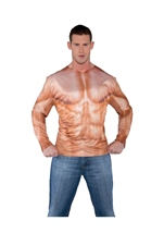 Adult Muscle Padded Shirt  Men