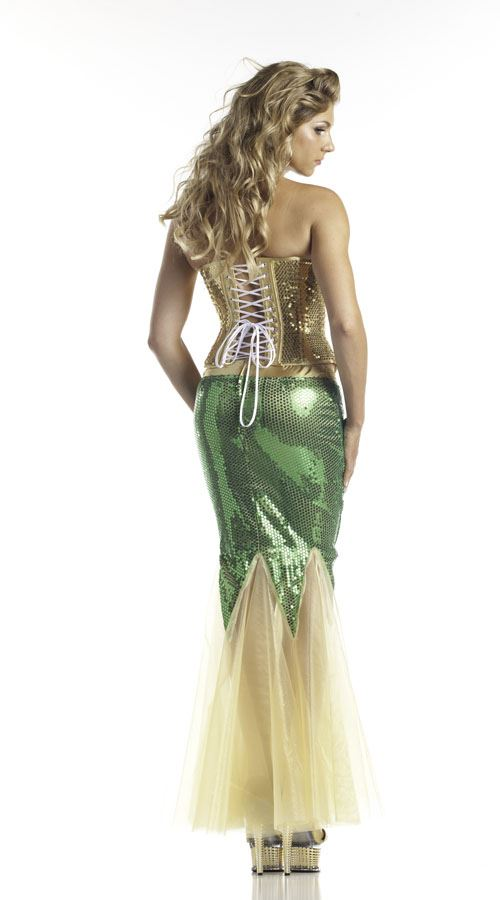 Water Nymph Costume Pin Dryad Costume on P...