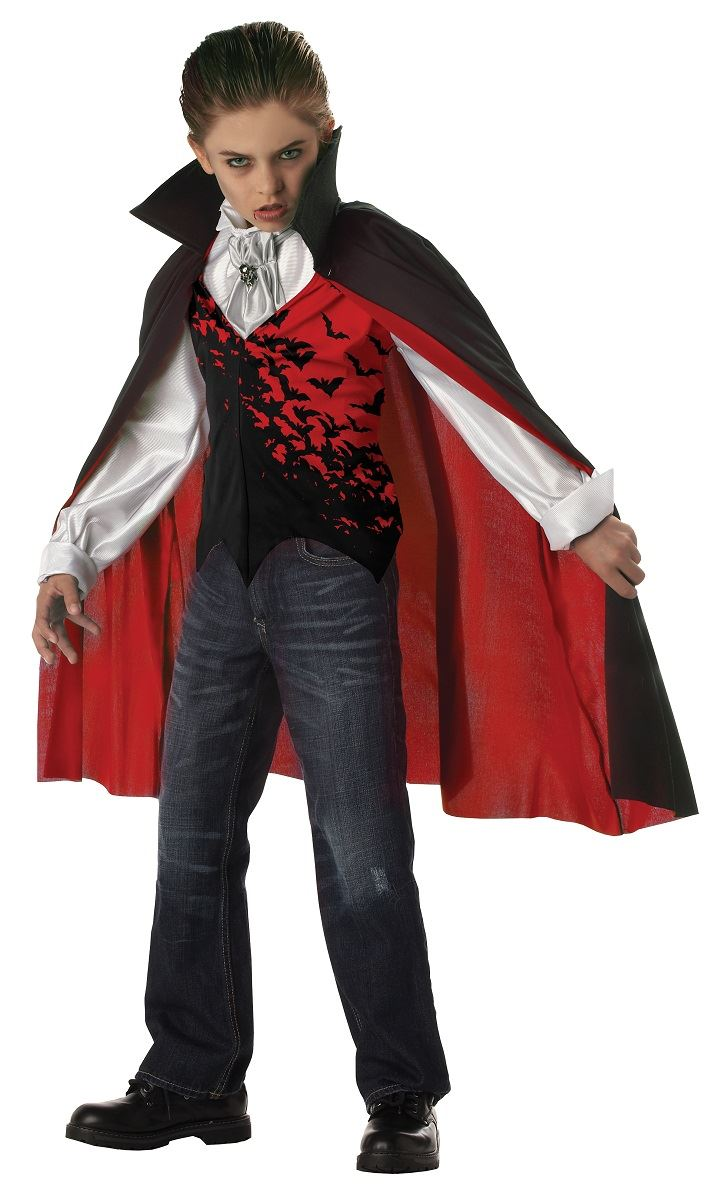 Kids Prince of Darkness Boys V&ire Costume  sc 1 st  The Costume Land & Kids Prince of Darkness Boys Vampire Costume | $35.99 | The Costume Land