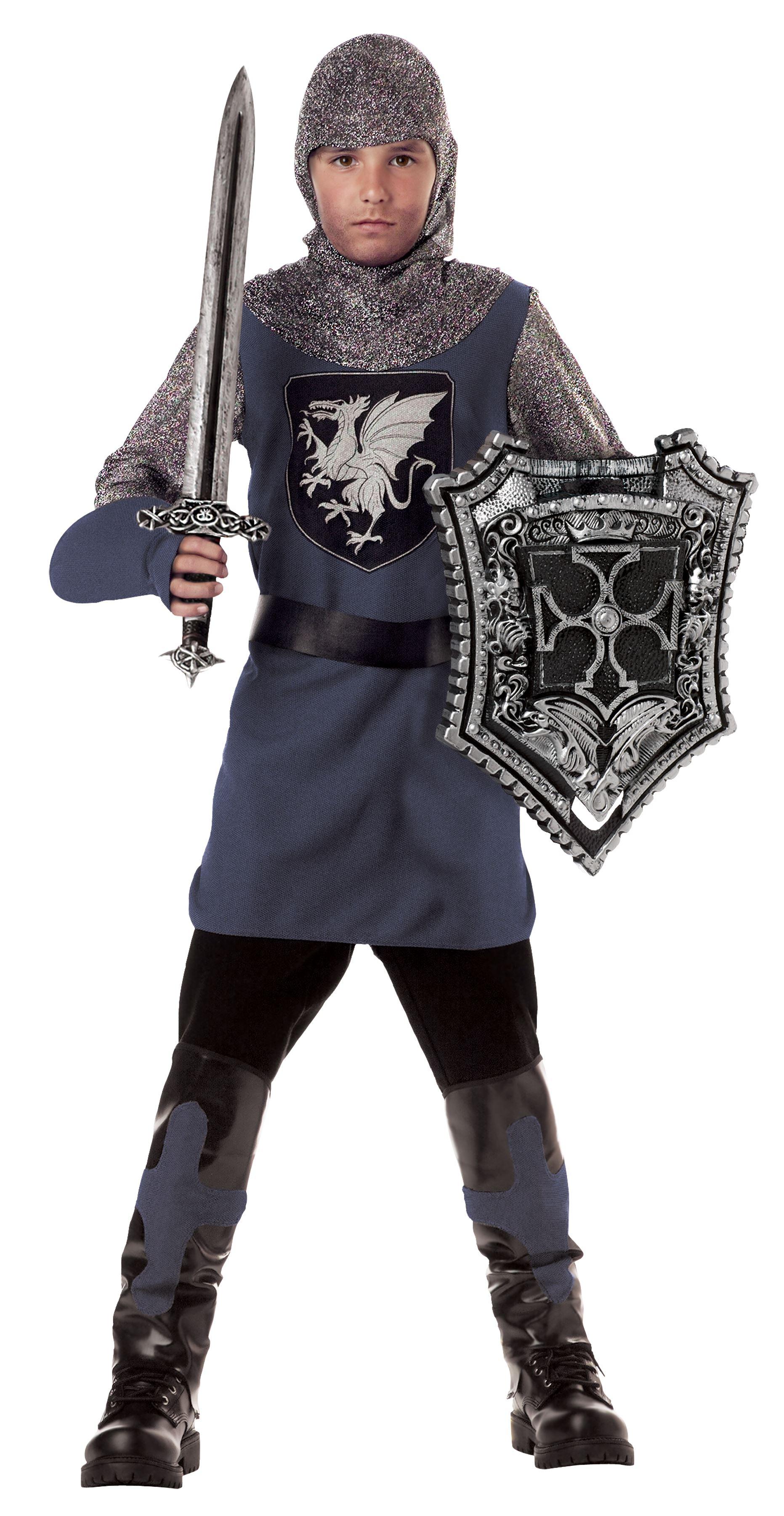 Новогодний костюм для мальчика рыцарь своими руками фото