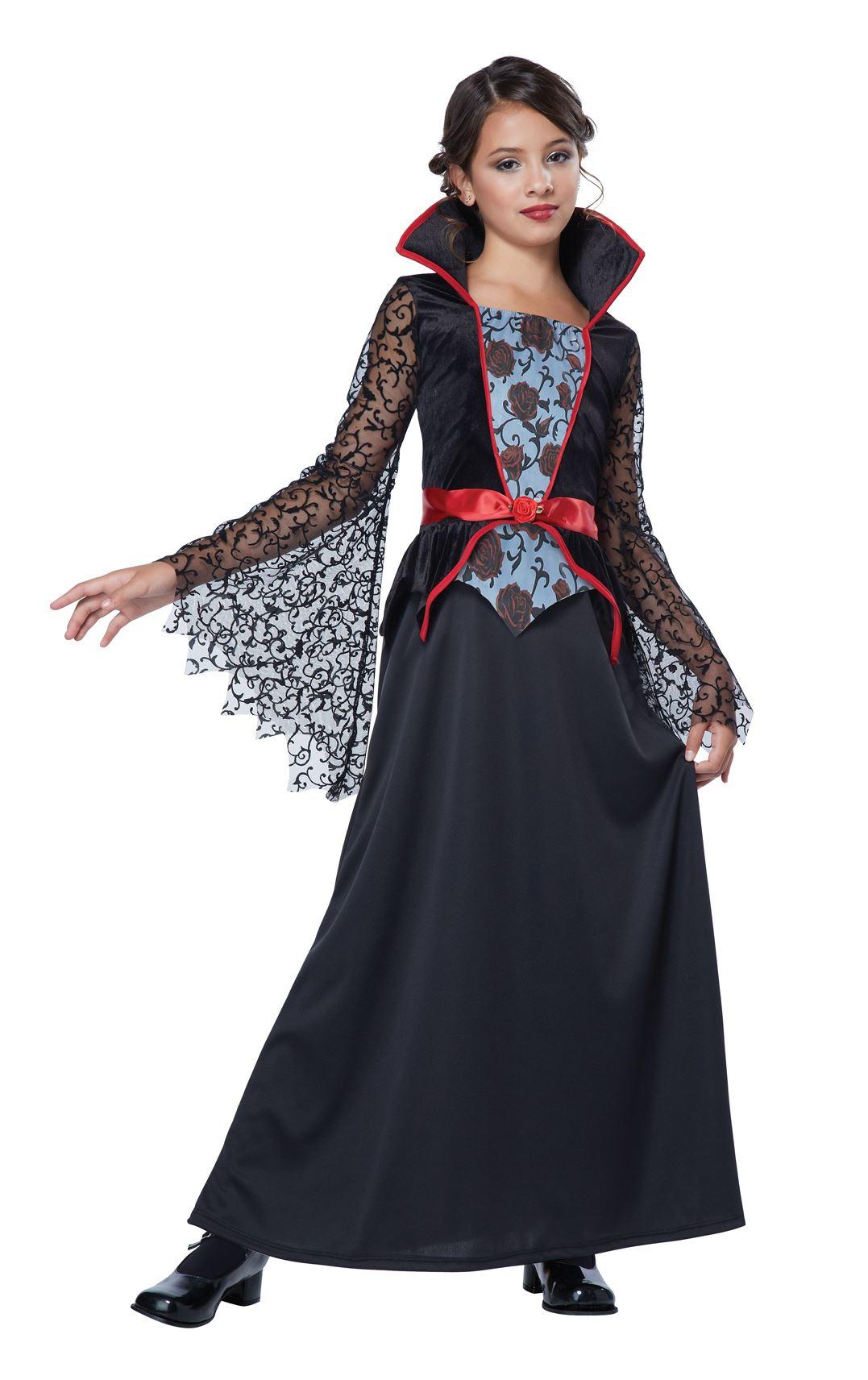 Adult Countess Bloodthorne Girls Vampire Costume | $19.99 ...