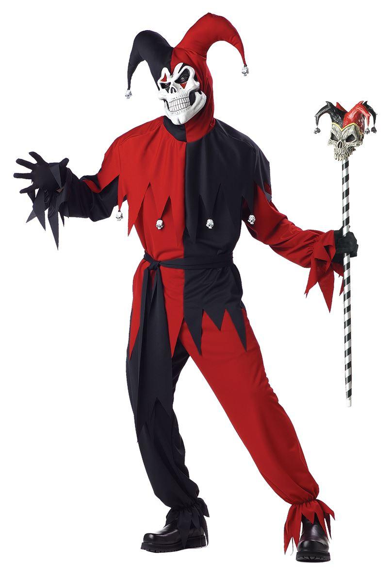 Evil Jester Men Halloween Costume  sc 1 st  The Costume Land & Plus Size Halloween Costume Halloween Costumes   Buy Plus Size ...
