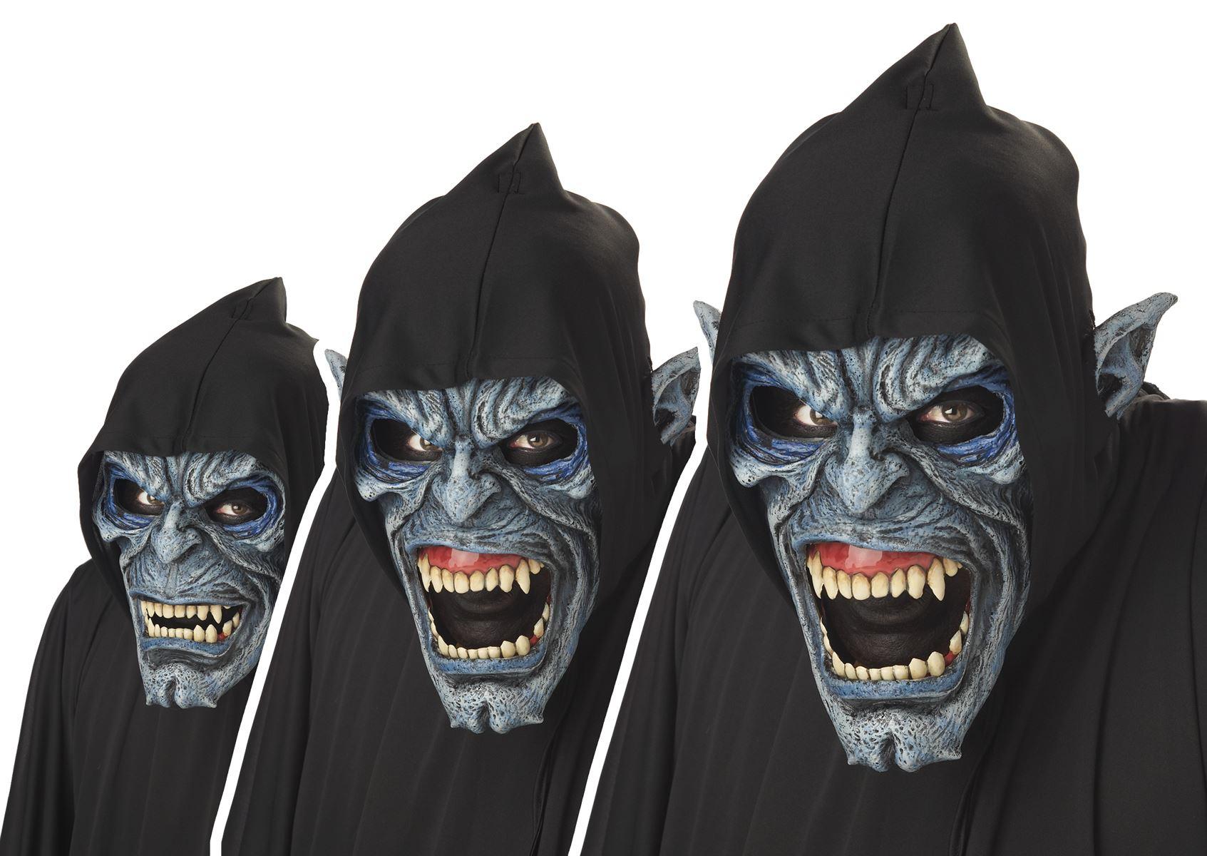 Adult Night Fiend Men Halloween Anti Motion Mask Costume | $82.99 ...