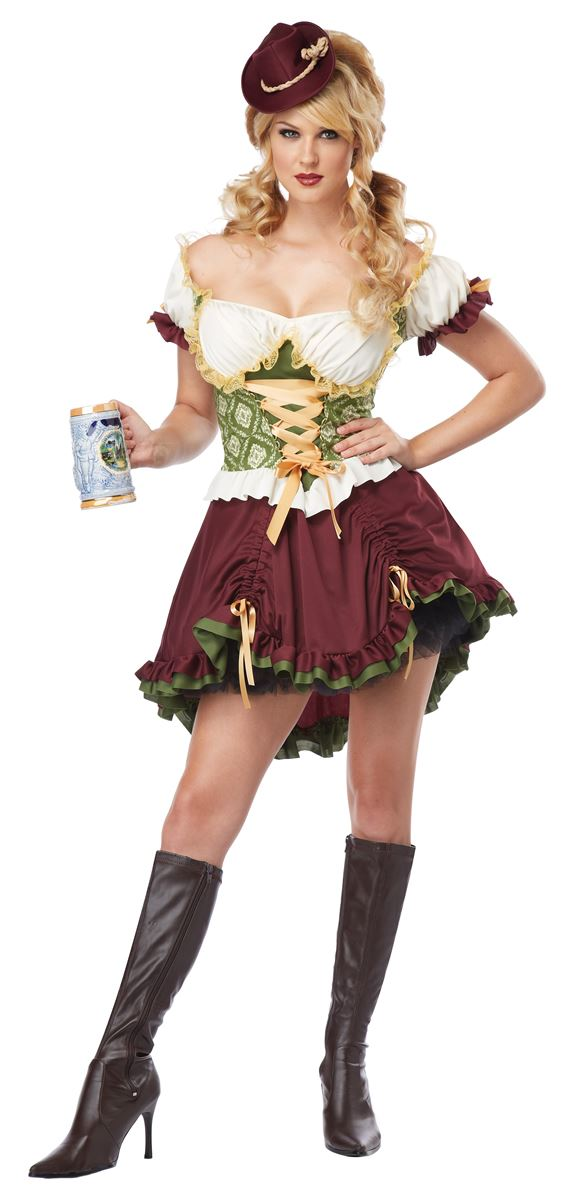 Beer Garden Girl Women Holiday Costume