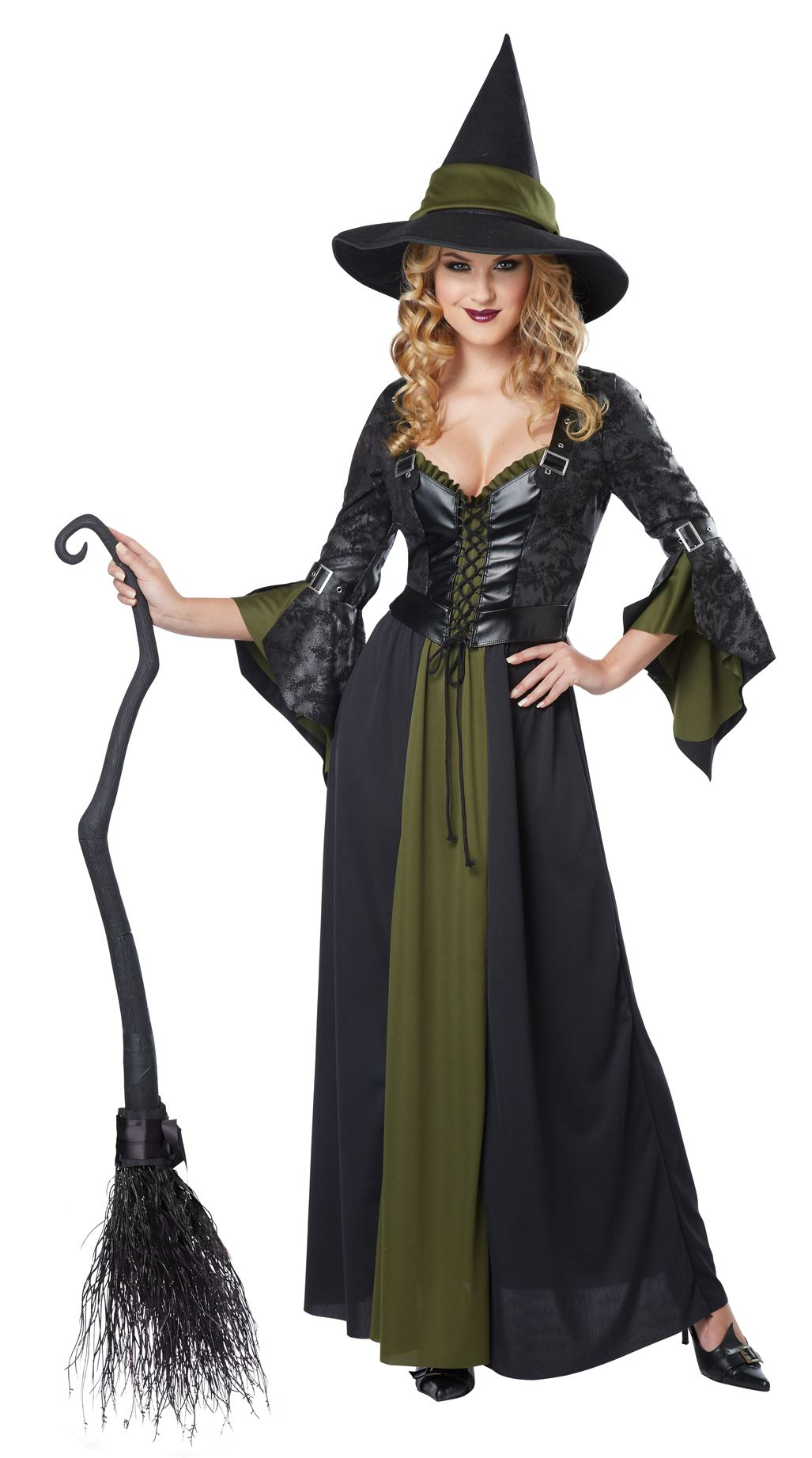 Adult Classic Witch Women Halloween Costume | $46.99 | The ...