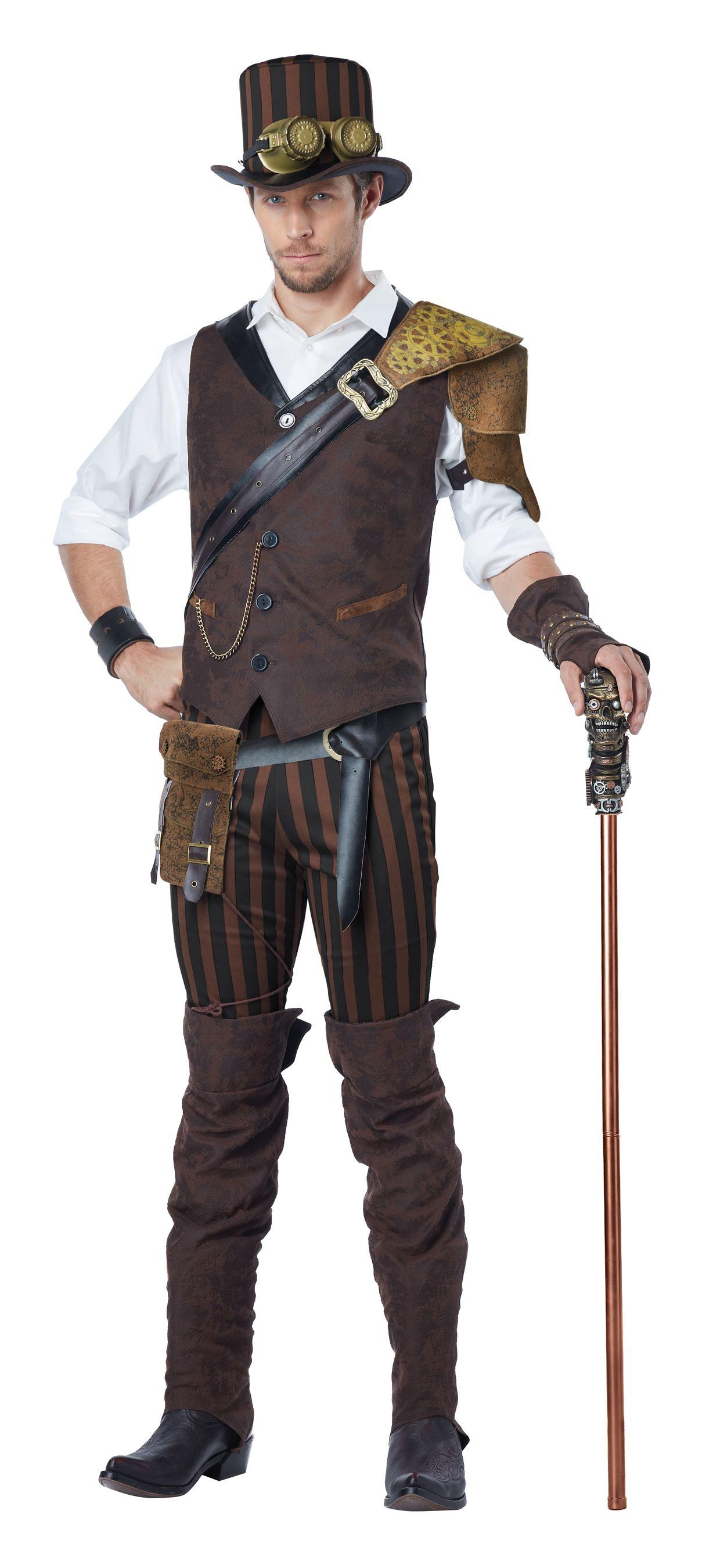 Steampunk Time Traveler Costume