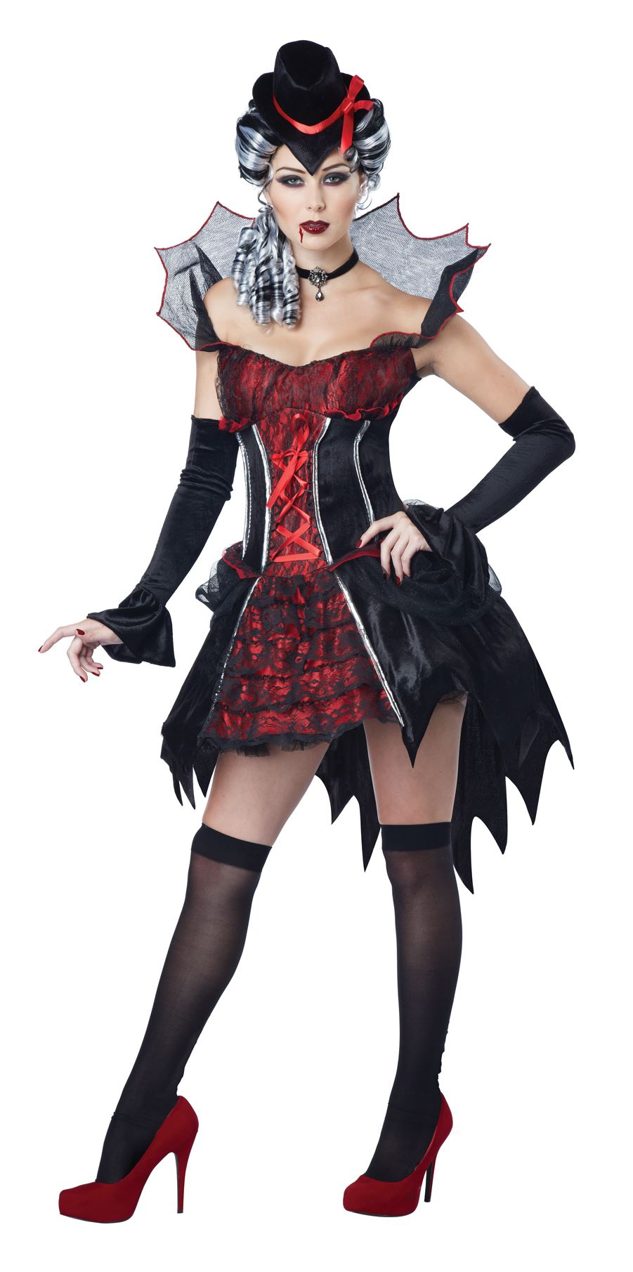 adult transylvanian vampire woman costume | $47.99 | the costume land