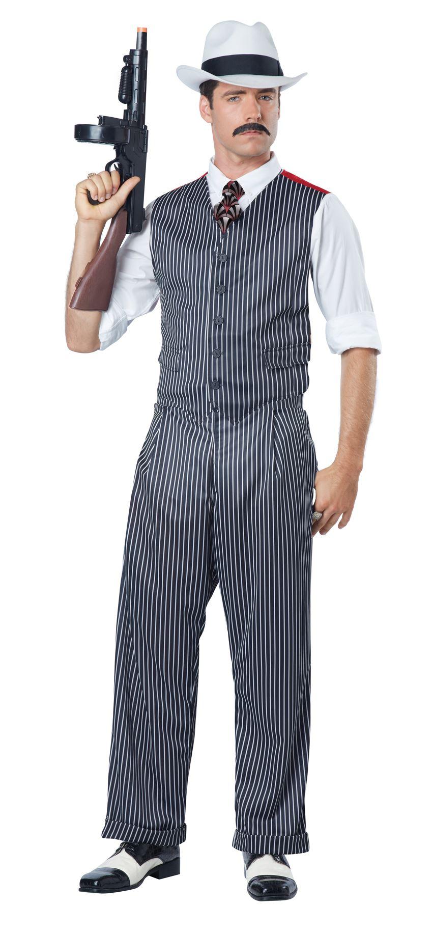 Mobster Halloween Costume