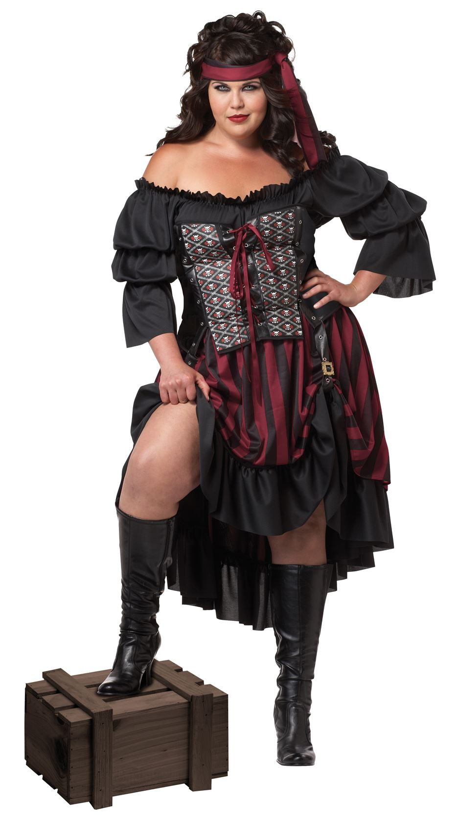 f14a71f615a05 Plus Pirate Wench Women Halloween Costume Sc 1 St The Costume Land