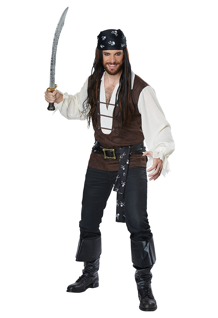 High Seas Adventurer Men Plus Costume  sc 1 st  The Costume Land & Plus Size Pirate Costume Halloween Costumes | Buy Plus Size Pirate ...