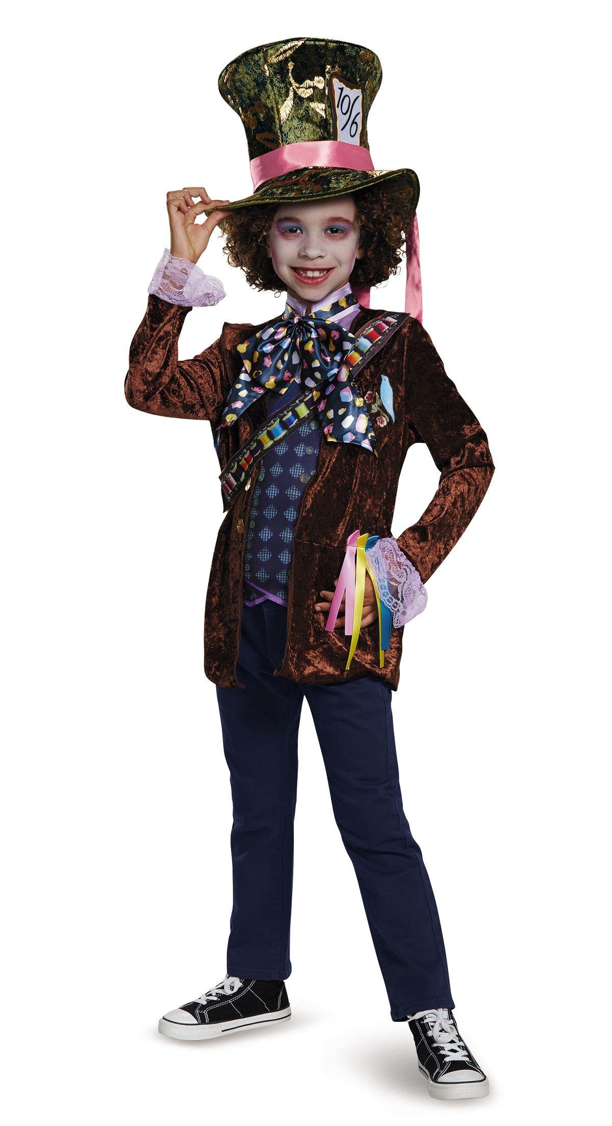Kids Mad Hatter Licensed Disney Boys Story Book Costume 21 99 The Costume Land