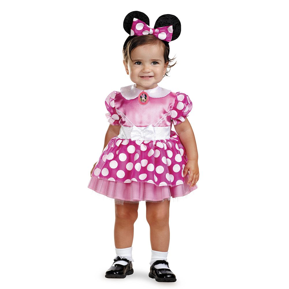 Kids Disney Pink Minnie Mouse Toddler Costume  sc 1 st  The Costume Land & Kids Disney Pink Minnie Mouse Toddler Costume | $14.99 | The Costume ...